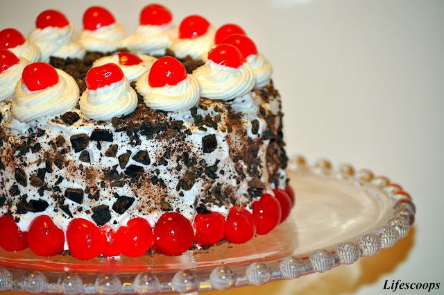 Valentine's Dessert - Black Forest Cake
