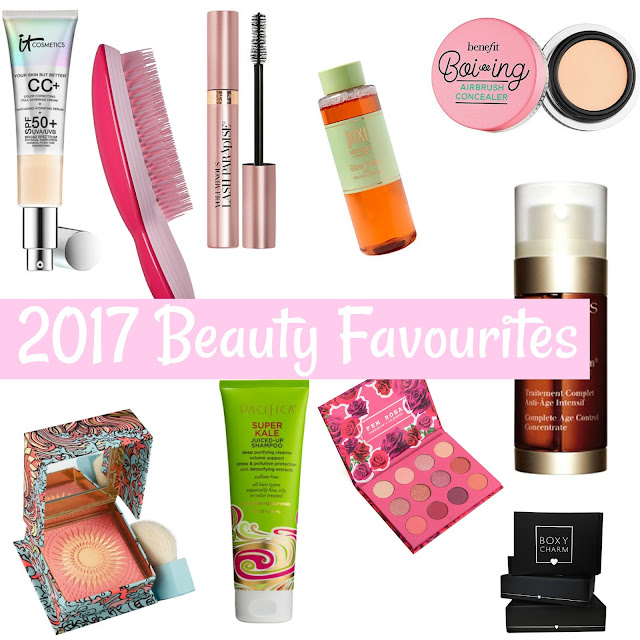 best makeup 2017 it cc cream clarins double serum pacifica super kale boxycharm review