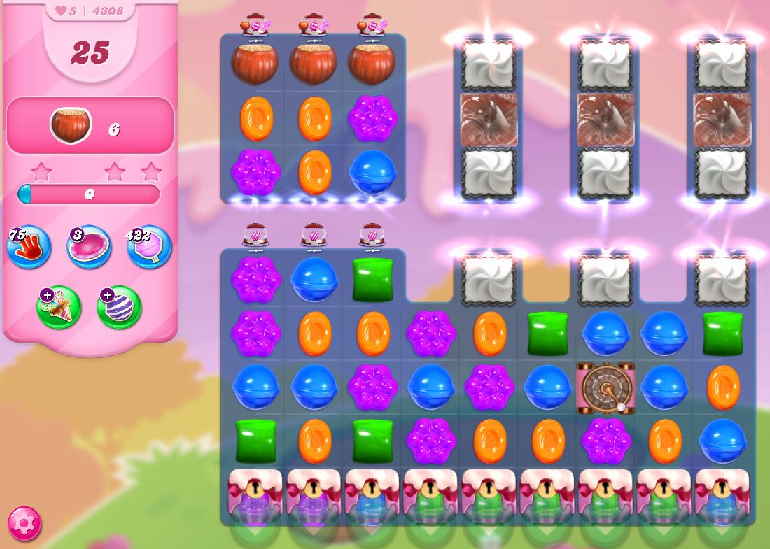 Candy Crush Saga level 4308
