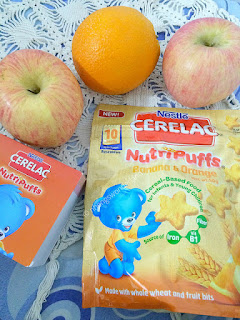 Cerelac Nutripuffs: Banana & Orange