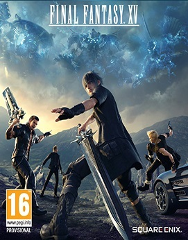 Final Fantasy 15 - Windows Edition Jogos Torrent Download capa