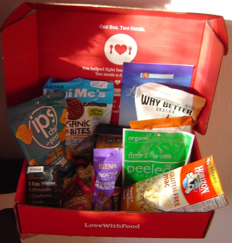 Love With Food Gluten-Free Subscription Box April 2016