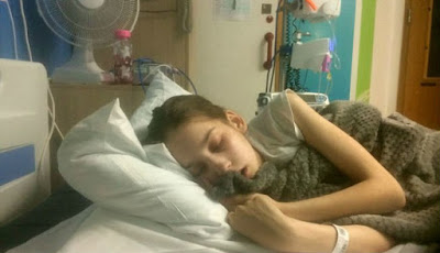 Langka, Gadis Termuda yang Didiagnosis Penyakit Kanker Agresif