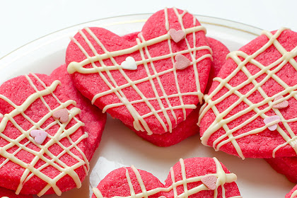 Valentine Shortbread Cookies Recipe