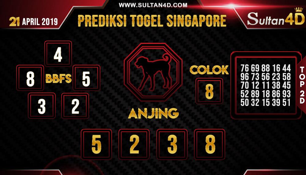 PREDIKSI TOGEL SINGAPORE SULTAN4D 21 APRIL 2019