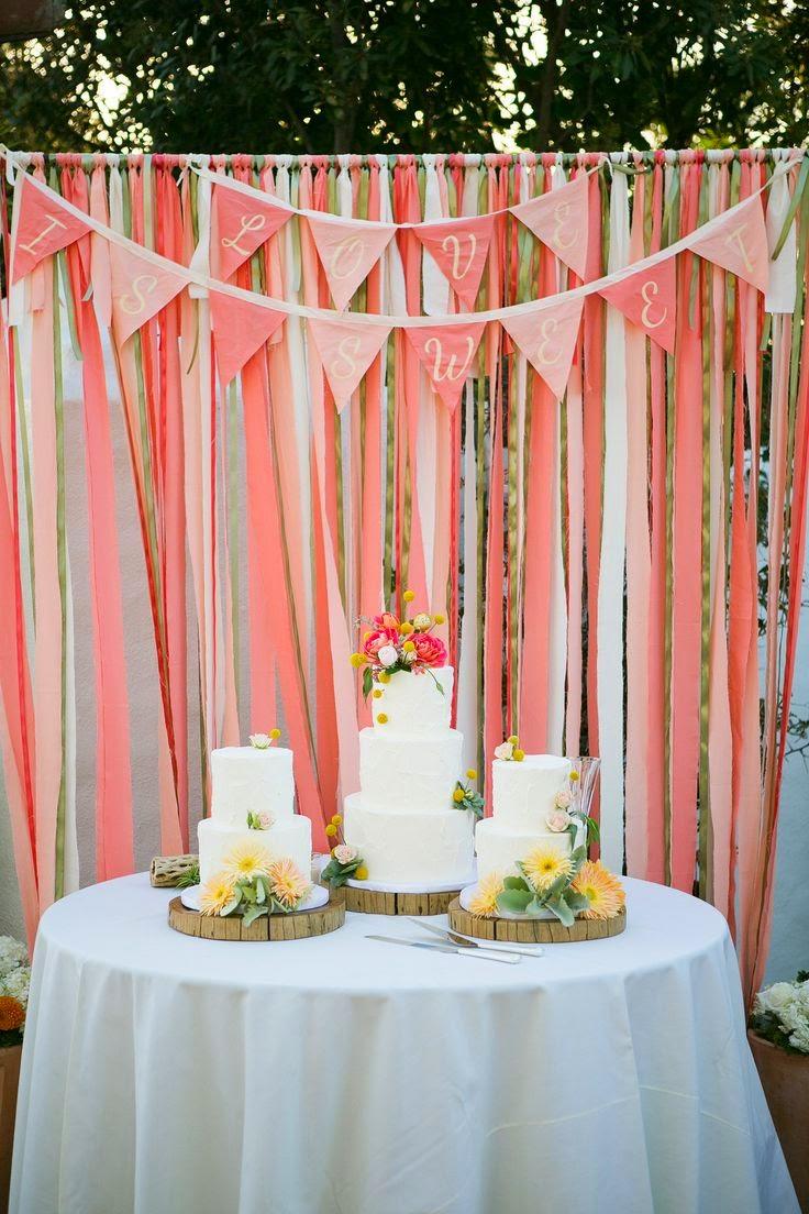 ideas para decorar tu boda en color coral blog de bodas originales para novias con estilo. Black Bedroom Furniture Sets. Home Design Ideas