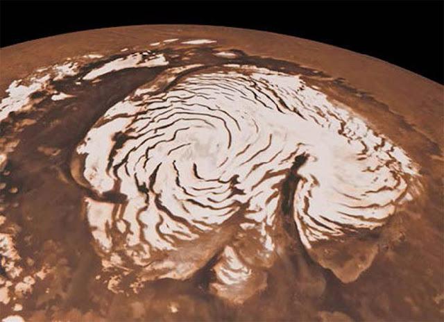 calota polar marciana