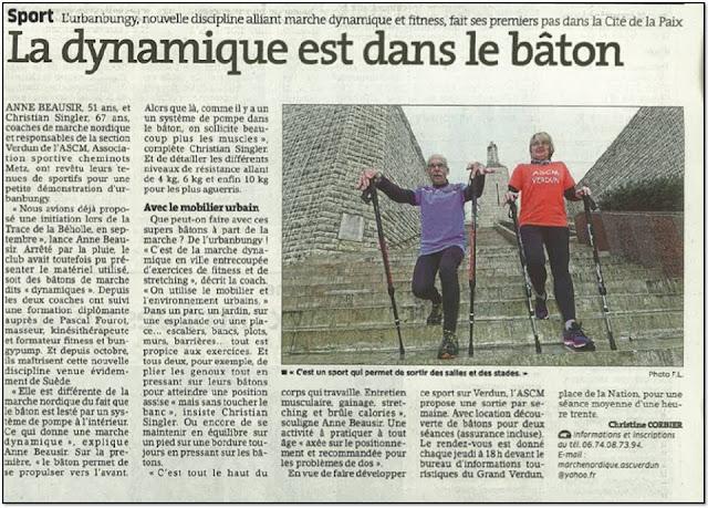 Sport L'Urbanbungy, nouvelle discipline alliant marche dynamique et Fitness, fait ses premiers pas dans la Cité de la Paix