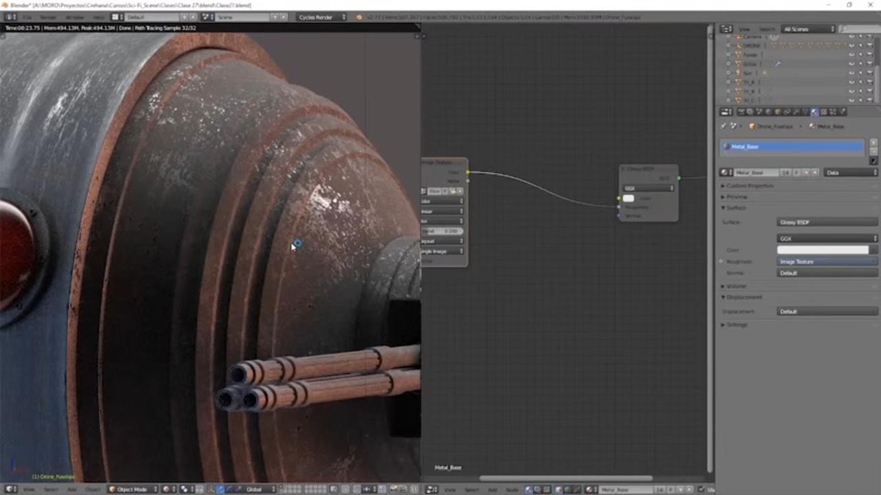 Aprende De 0 al 3D: Crea una escena Sci-Fi con Blender