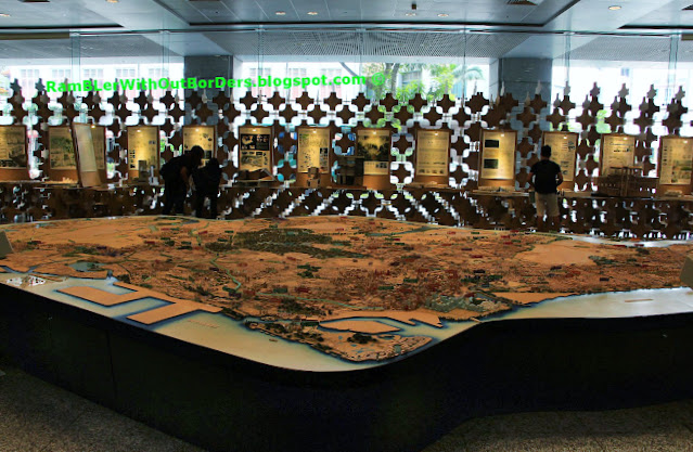 Islandwide Model,  Singapore City Gallery, Singapore