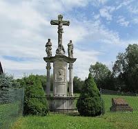 Krzyż przydrożny w Czermnej.