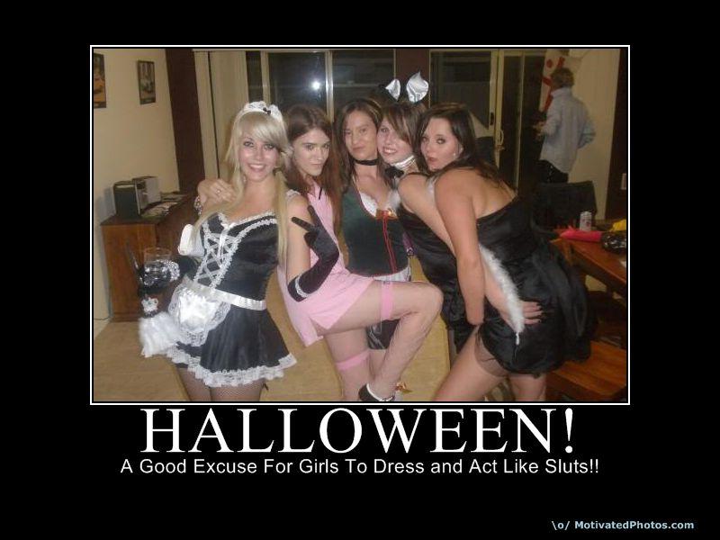 Slut Halloween 8