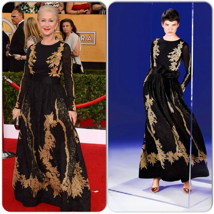 Helen Mirren in Escada – 2014 SAG Awards