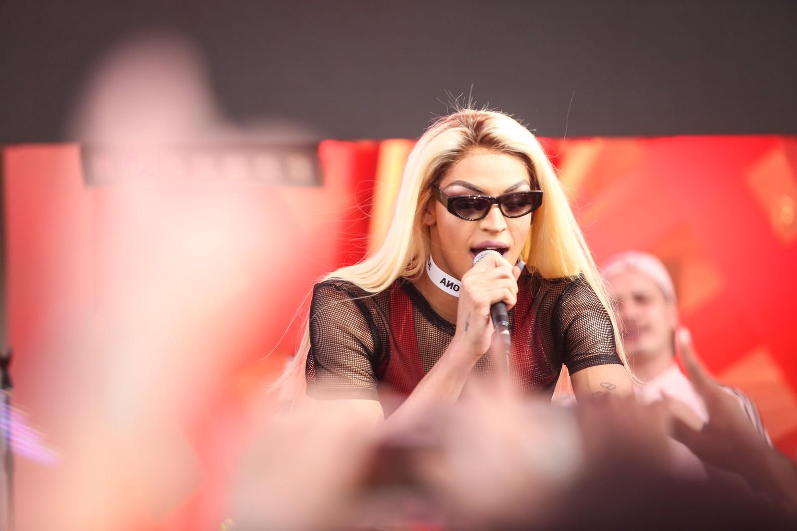 Pabllo Vittar anima público em apresentação no Rock in Rio; assista