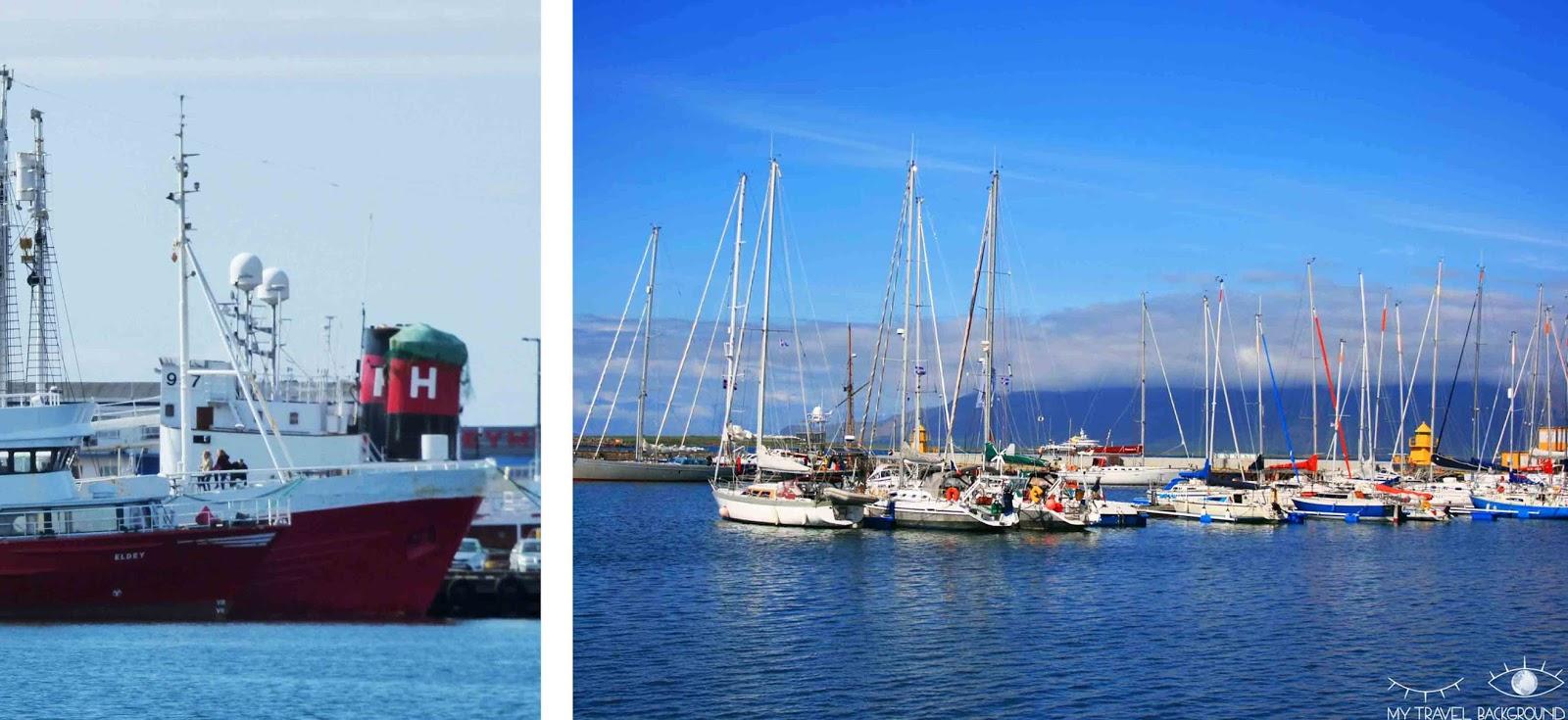 My Travel Background : que voir à Reykjavik? Visiter la ville en 1 jour, les essentiels - Le port