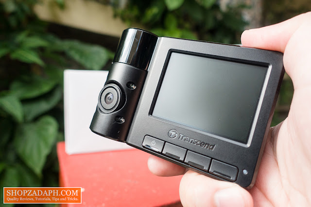 transcend dashcam drivepro 550