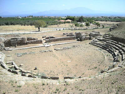 More on Works at the ancient theatre of Sicyon