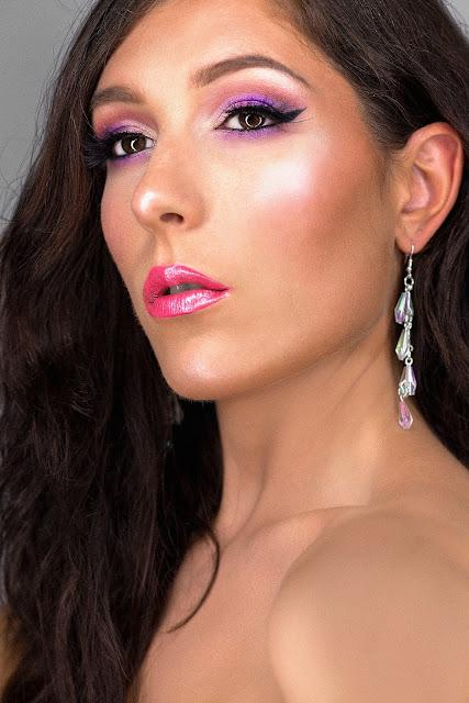 tutoriel maquillage palette norvina