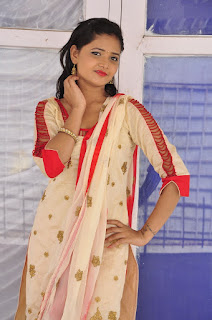 Actress Shreya Vyas Latest Stills in Salwar Kameez  0006