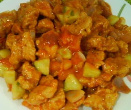 Asiadeli Sweet And Sour Chicken With Mayonnaise Chinese Recipe