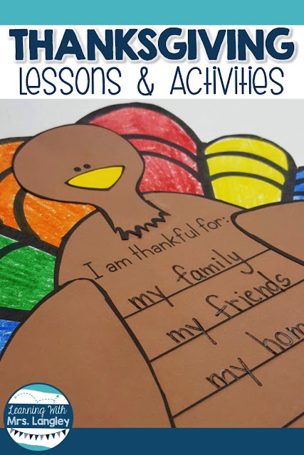 This blog post outlines what I am teaching the month of November. Thanksgiving kindergarten crafts and activities are a fun way to incorporate your Thanksgiving unit into your centers, art, math, reading, and writing time. These lessons will give you a month of lessons to use throughout the month, or just to survive those last two days before break. With very few worksheets, these hands on activities will keep your students engaged and learning. #kindergarten #thanksgivinglessonideas #teacherspayteachers
