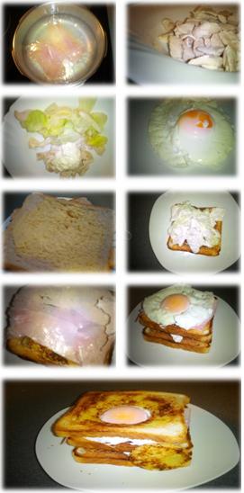 recetas paso a paso de sandwich de pollo