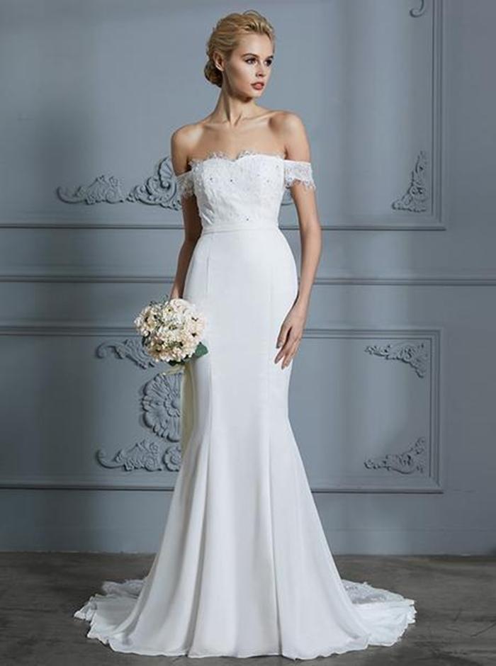 https://www.wishingdress.com/collections/boho-wedding-dresses/products/modest-wedding-dresses-mermaid-wedding-dress-off-the-shoulder-wedding-dress-wd00300?variant=11091954040876