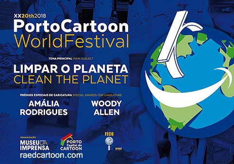 20th International PORTOCARTOON FESTIVAL 2018 Portugal