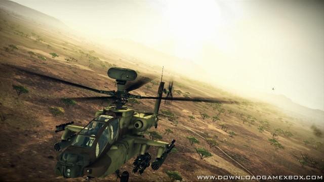 Apache air assault gameplay