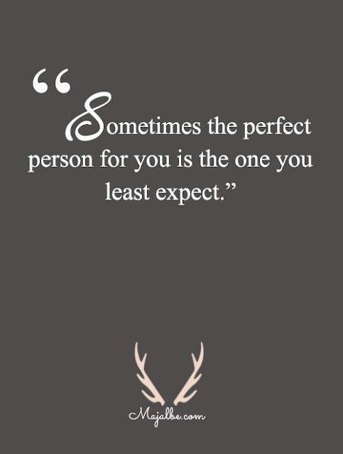 Perfect Person Love Quotes