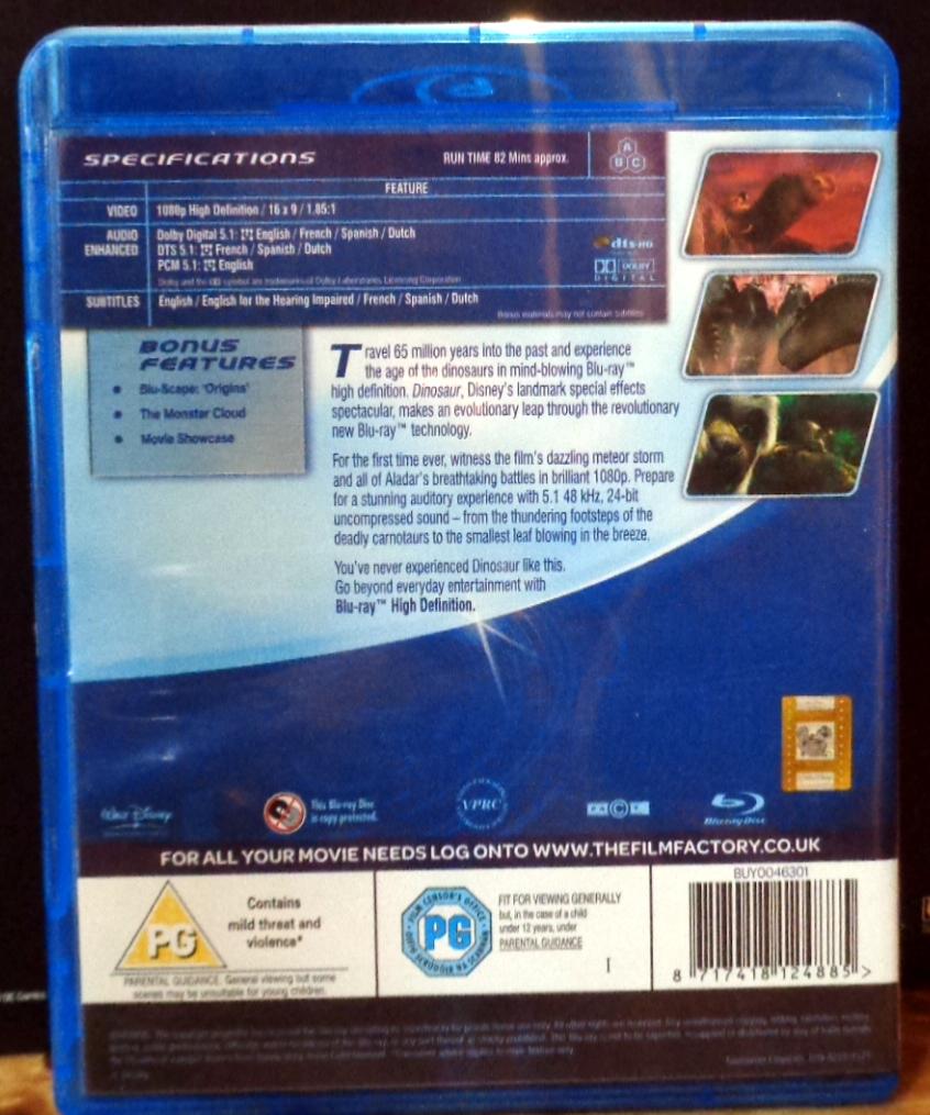 Movies On DVD And Blu-ray: Dinosaur (2000