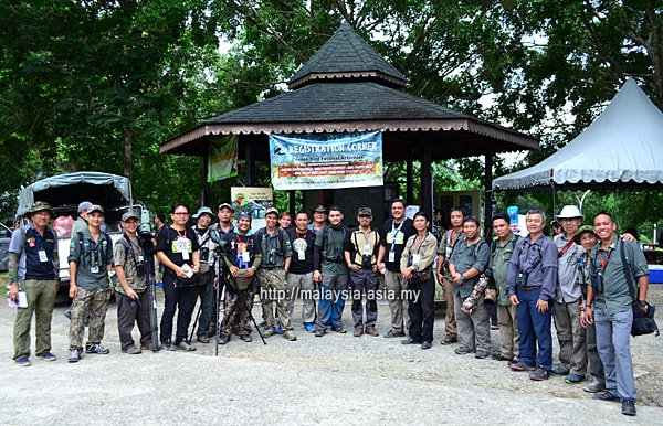 Members of Borneo Bird Festival