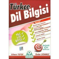 Örnek Akademi Türkçe Dil Bilgisi (YGS,LYS,KPSS)