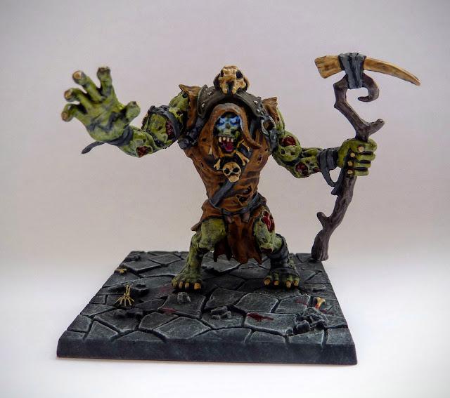 Dungeon Saga: Dwarf King's Quest - Hoggar, Zombie Troll Shaman