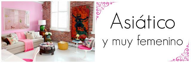 #HOMETOUR: ASI�TICO Y MUY FEMENINO