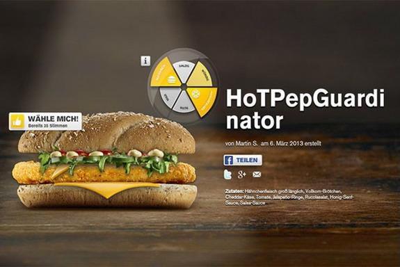 McDonald's launches HoTPePGuardinator sandwich