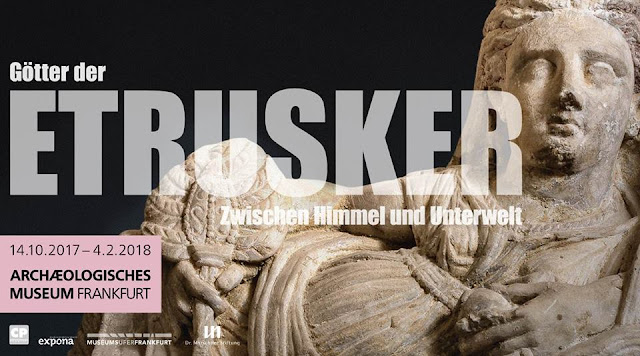 'Gods of the Etruscans' at the Archaeological Museum, Frankfurt