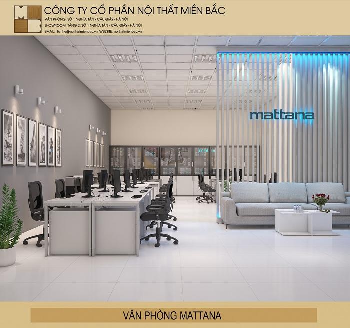 Thiết kế văn phòng đẹp không gian chung sáng tạo