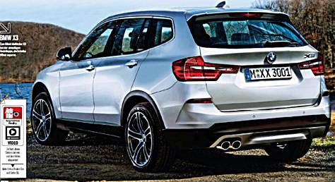 2017 bmw g01 x3 gets another render auto bmw review. Black Bedroom Furniture Sets. Home Design Ideas
