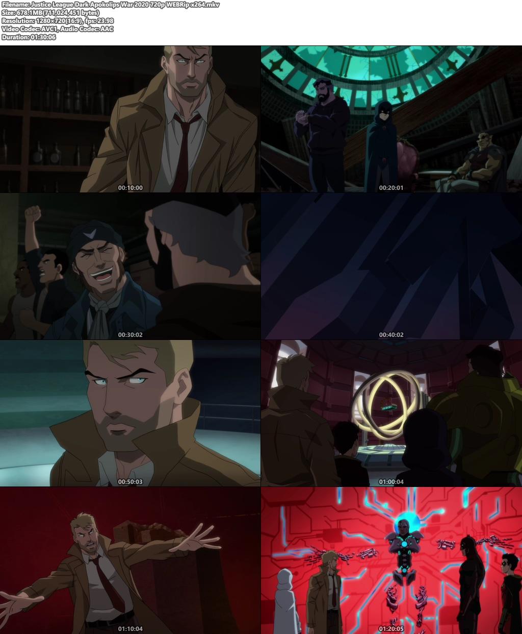 Justice League Dark: Apokolips War 2020