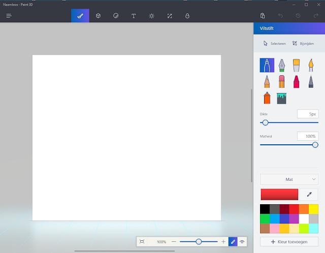 39 windows 10 paint 3d 39 een demonstratiefilmpje en een for Tekenprogramma windows