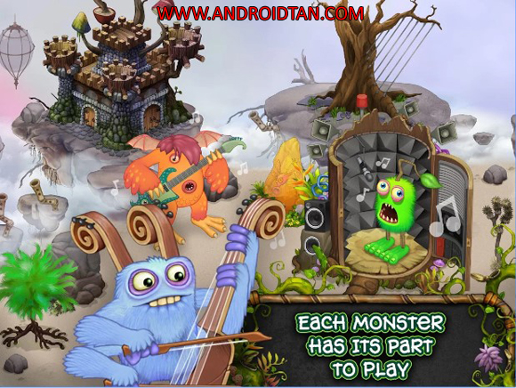 Free Download My Singing Monsters Mod Apk v2.0.3 (Unlimited Money) Android Terbaru 2017