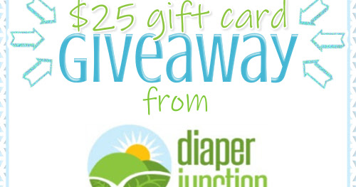 $25 Diaper Junction Gift Card Giveaway