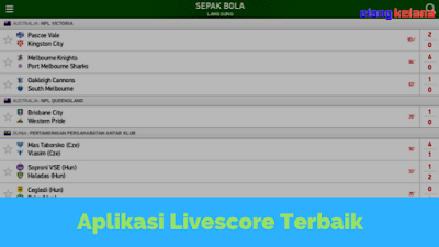 Menyaksikan sebuah acara olahraga secara langsung melalui tayangan televisi memang merupakan FlashScore, Aplikasi Livescore Olahraga Paling  Lengkap