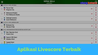FlashScore Indonesia, Aplikasi Livescore Terbaik