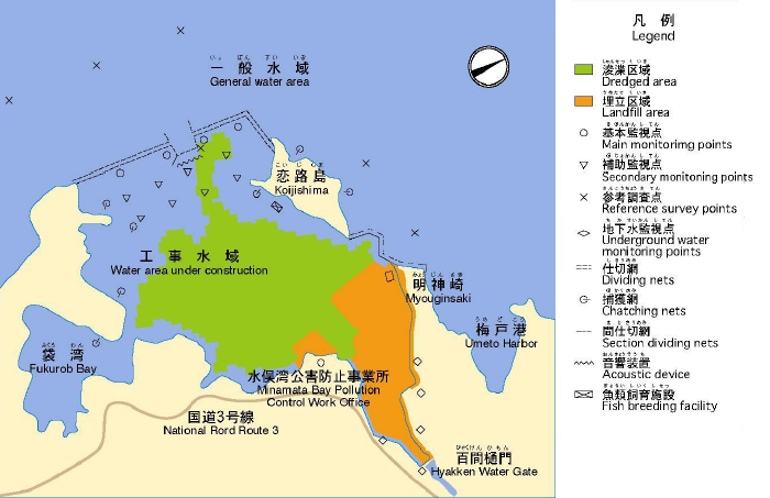 mapa da area remediada