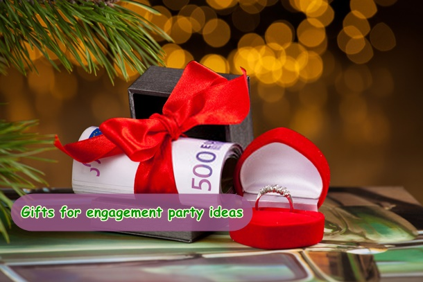 gifts for engagement party ideas for him