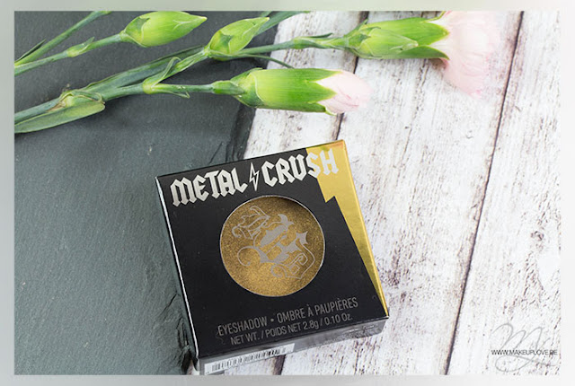 Kat von D Metal Crush Eyeshadow Thrasher Review Swatch