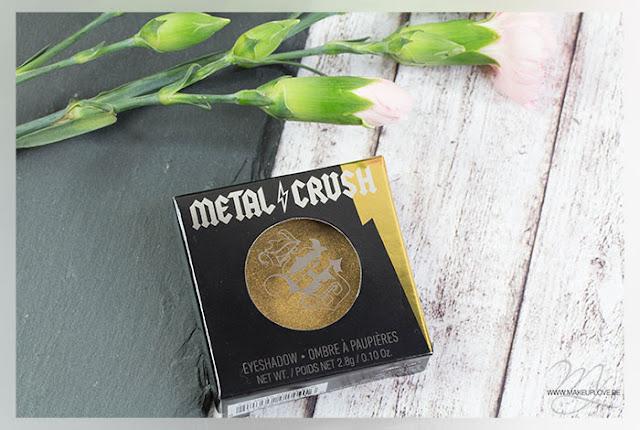 Kat von D Metal Crush Eyeshadow Thrasher Review Swatch