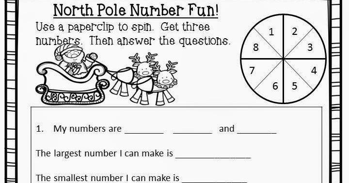 Super Second Grade Smarties: Free Christmas Activity- 12